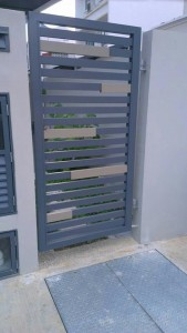 aluminium side gate