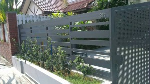 spacedor aluminium fence
