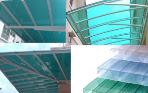polycarbonate shelter for many applications