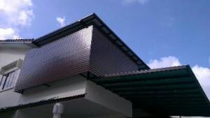 Aluminium Screen Shelter