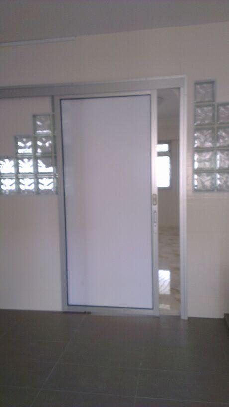 Aluminium Top Hung Sliding Glass Door Spacedor Marketing Pte Ltd