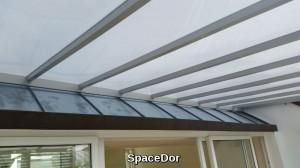 balcony composite panel shelter