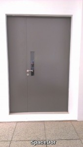 Aluminium Flush Door