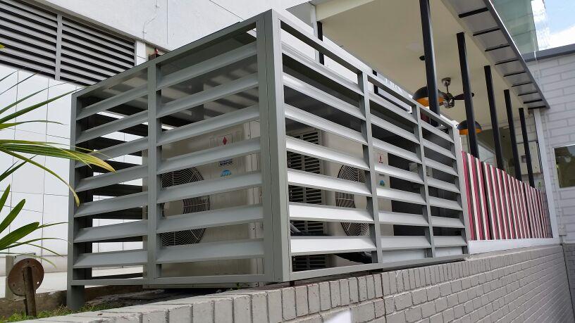 Aluminium Louver Screen