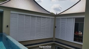 aluminium sliding sun screen