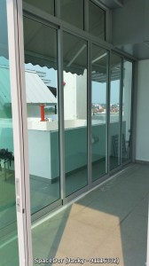 Aluminium Sliding Glass Door for Additional Room
