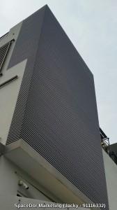 Aluminium Facade or Alumnium Sun Screen