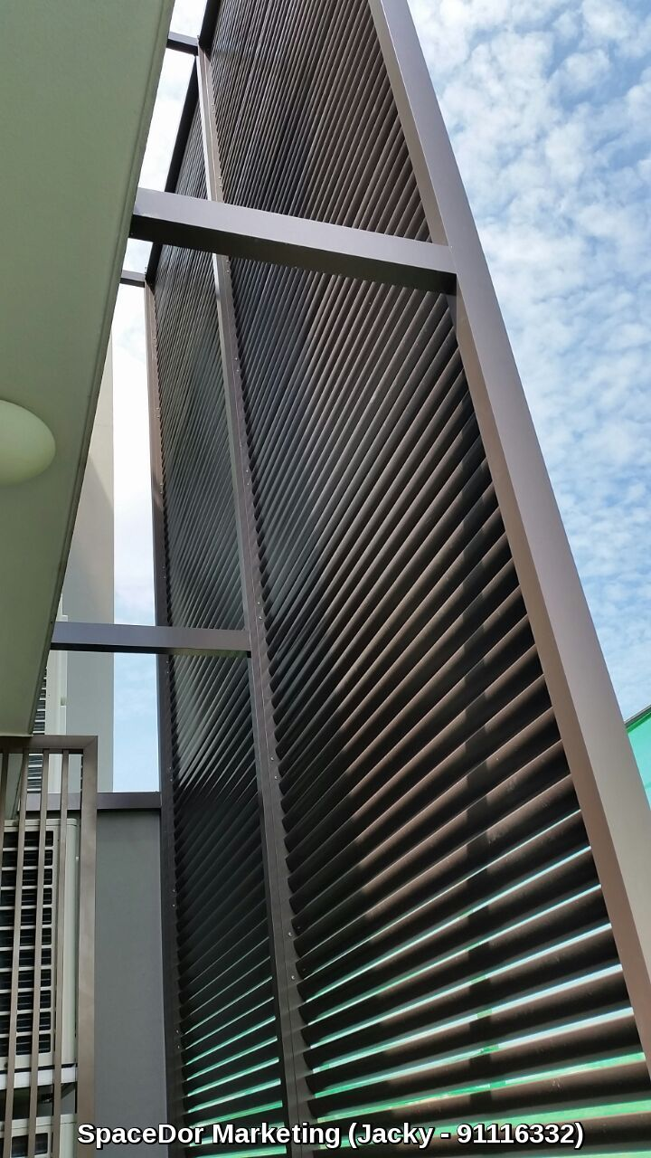 Aluminium Louvers Sun Screen Spacedor Marketing Pte Ltd