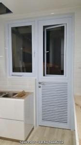 2in1 Window Door