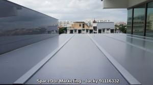 Aluminium Composite Panel or Polycarbonate Shelter