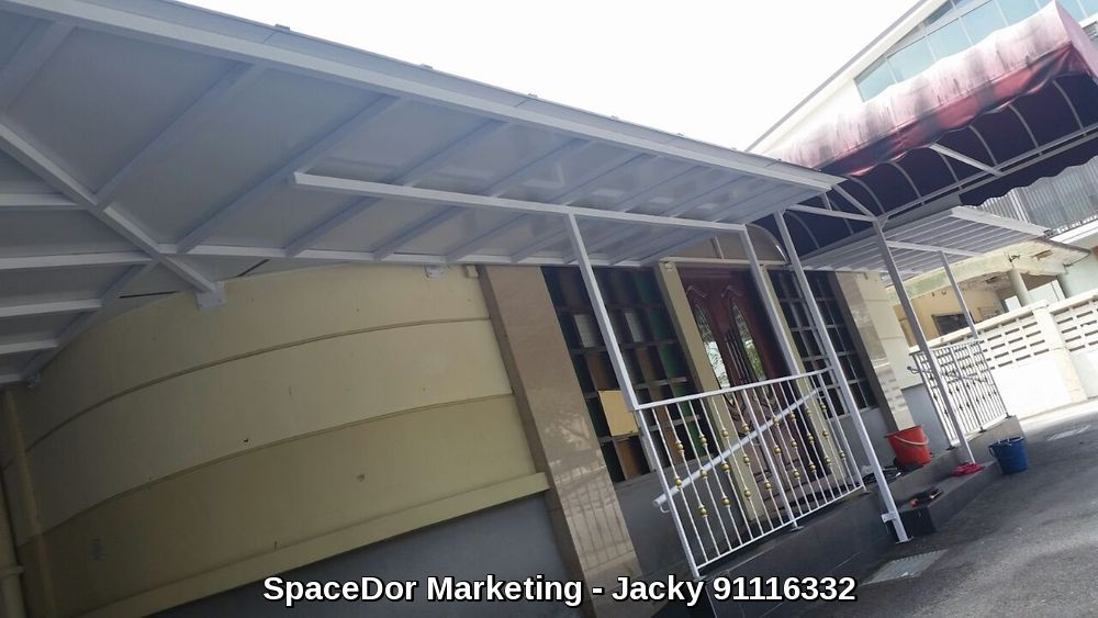 Composite Metal Panel Roof : New project at lim ah pin road aluminium composite