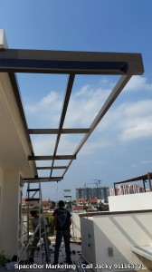 Aluminium Composite Shelter