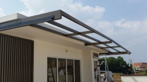 Covering Outdoor with Aluminium Composite Panel Shelter