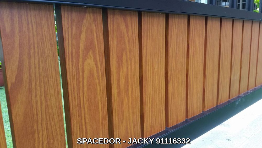 Powder Coated Aluminium Drive Way Gate And Fencing With