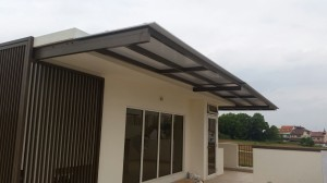 Powder Coated Aluminium Structure and Aluminium Composite Panel Shelter