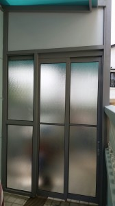 Sliding Window and Top Hanging Sliding Door
