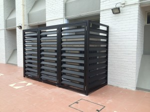 Aircon Louvers Screen