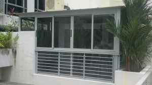 Aluminium Composite Panel and Sliding Window and Swing Door 2