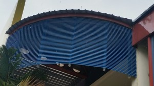 Aluminium Louvers Sun Screen Shelter