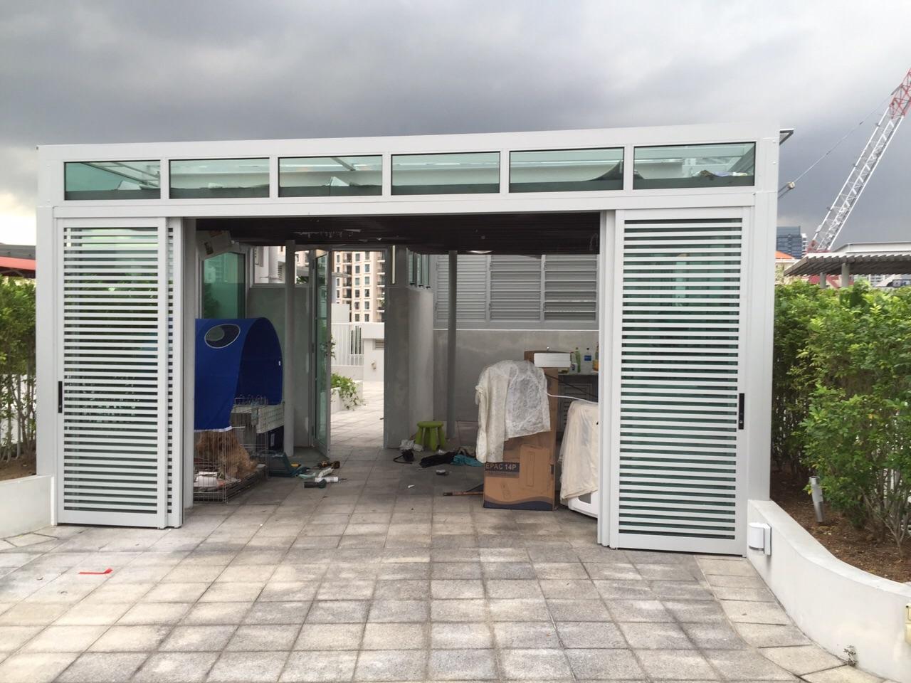 Polycarbonate Doors Alloy Oversized Barn Door Uses