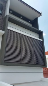 Aluminium sun screen