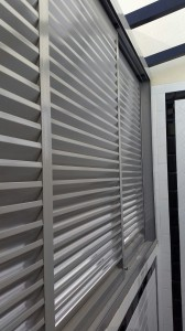 Aluminium Louvers Window and Skylight Roofing