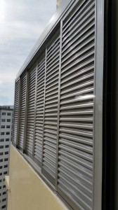 Skylight Roofing with Aluminium Louvers Window