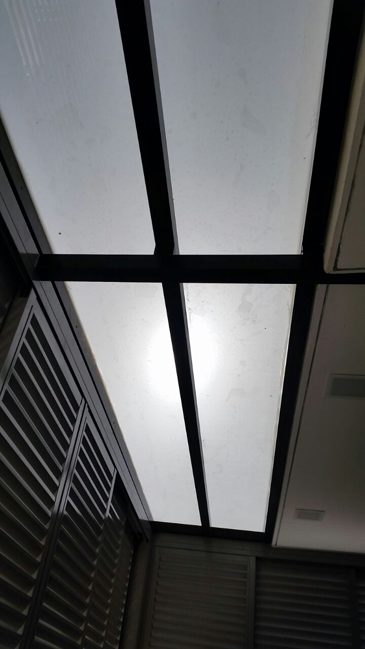 Aluminium Louvers Window With Skylight Roofing Spacedor
