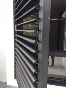 adjustable aluminium louvers sun screen