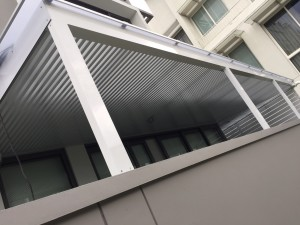 aluminium trellis