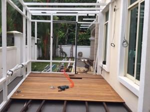 powder coated aluminium structure aluminium composite panel roofing