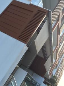 aluminium adjustable louvres window