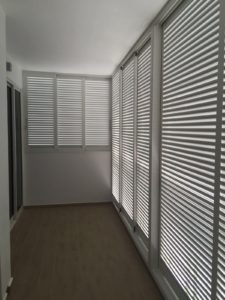 Aluminium Louver Window for Condominium