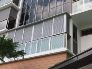 aluminium louver for condo