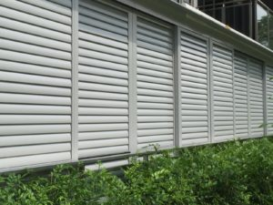 aluminium louver sun screen for condo