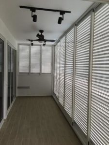 Aluminium Louver Window for Balcony