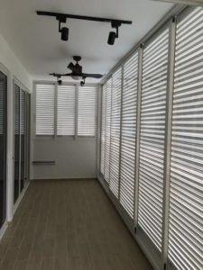 Aluminium Louver Window for Balcony
