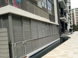 Aluminium Louver Door Window