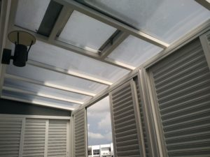 Polycarbonate Shelter for Balcony