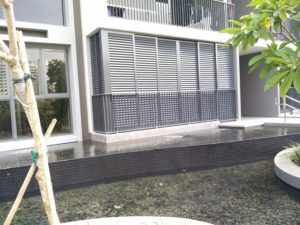 Nice sweet home with our aluminium louver