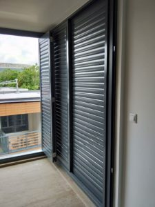 Adjustable Aluminium Louver Door
