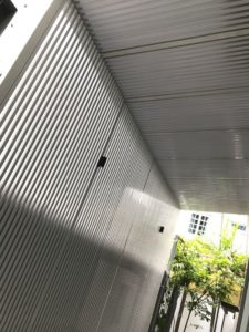 Aluminium Sun Shade and Trellis