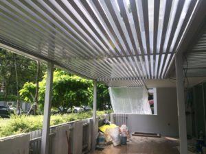 Aluminium Trellis Shelter