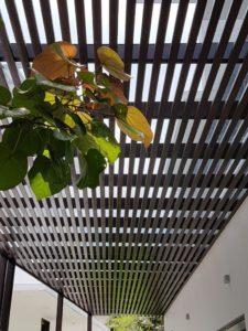 Aluminium Trellis Sun Shade