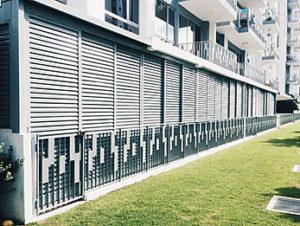 Balcony Aluminium Louver