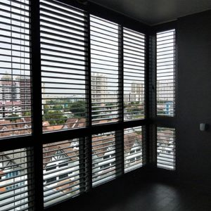 Spacedor Aluminium Louver